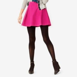 Kate Spade | Pink High Waisted Pleated Mini Skirt